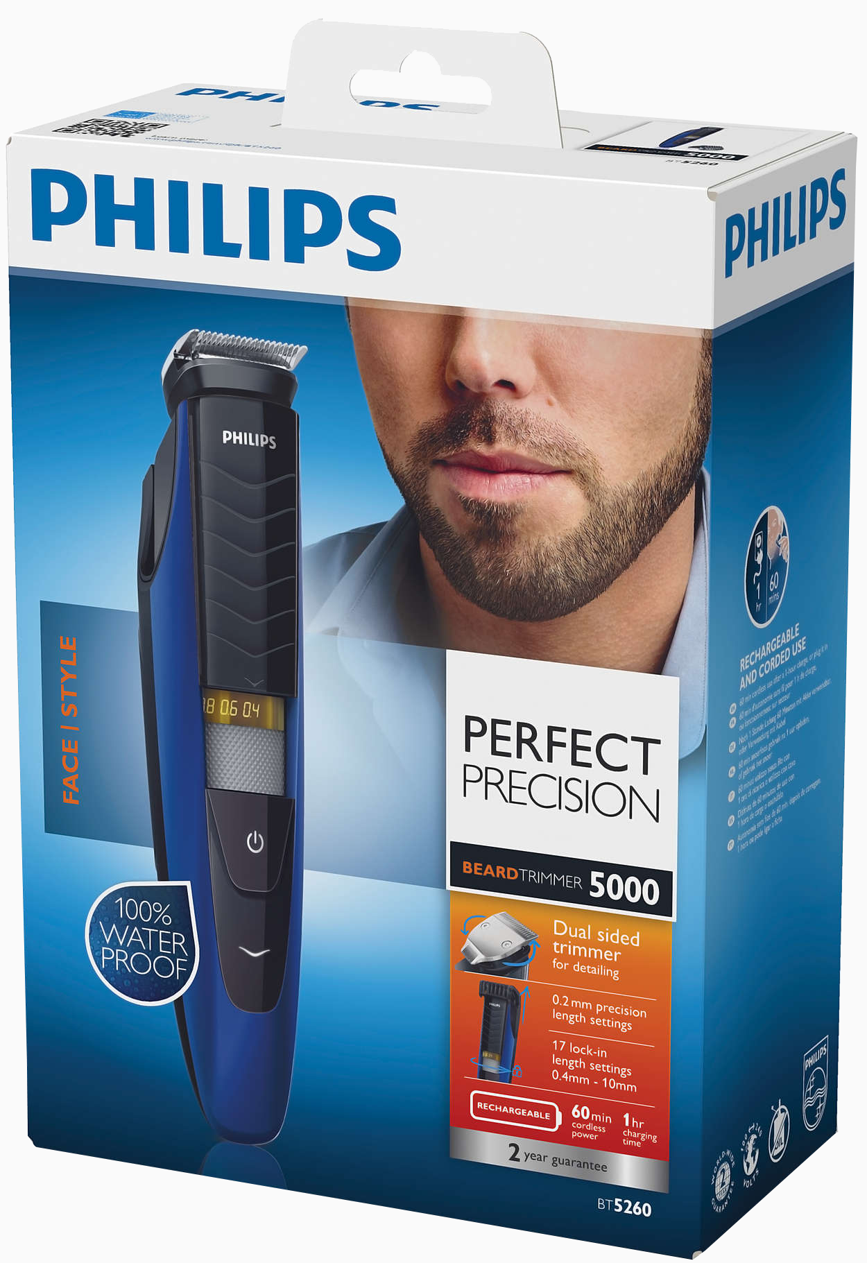 review philips bt5262 precision beard trimmer hughes blog. Black Bedroom Furniture Sets. Home Design Ideas