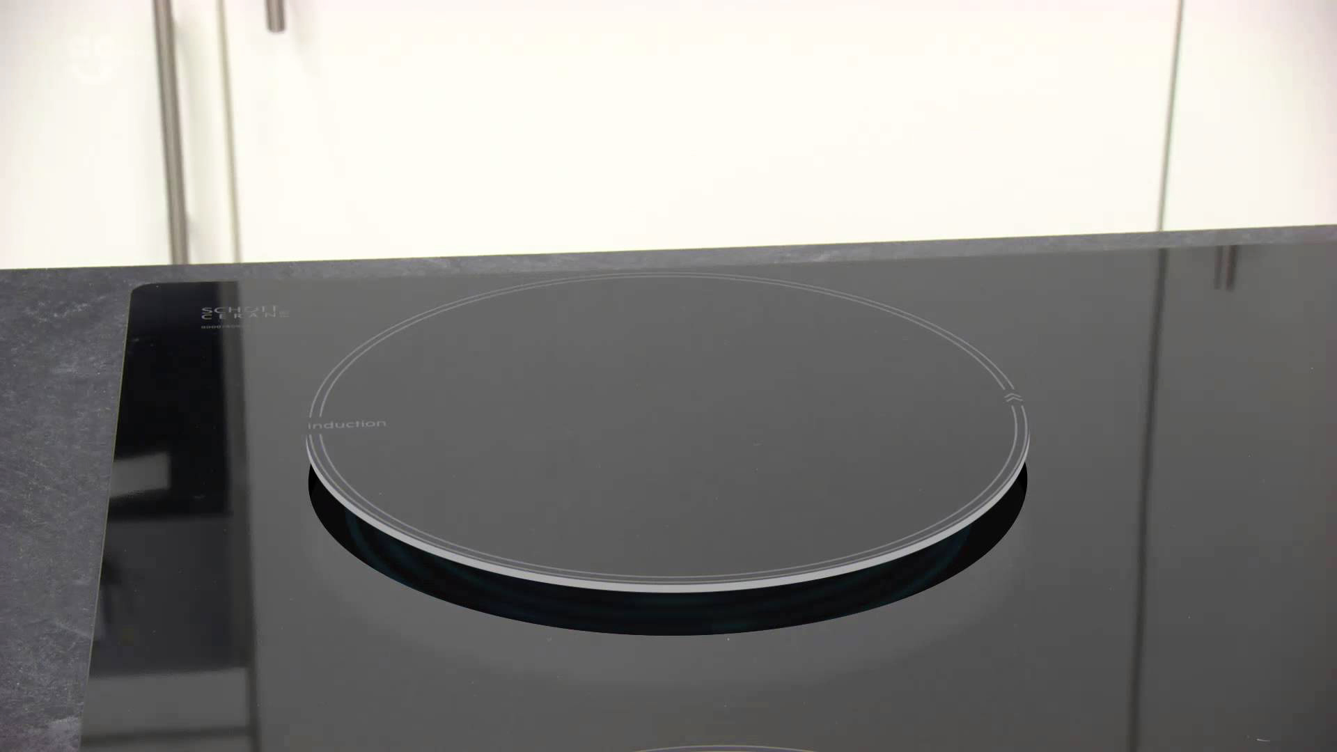 bosch induction hob how to turn on