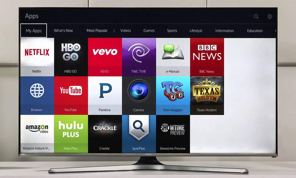how to delete apps on samsung smart tv 2016