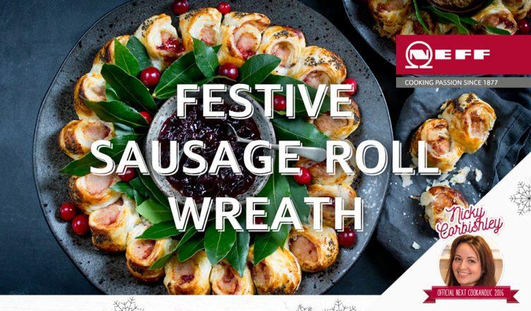 Recipe Festive Sausage Roll Wreath Hughes Blog