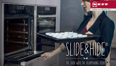 Neff Slide&Hide® B44M42N5GB Single Built-in Electric Oven