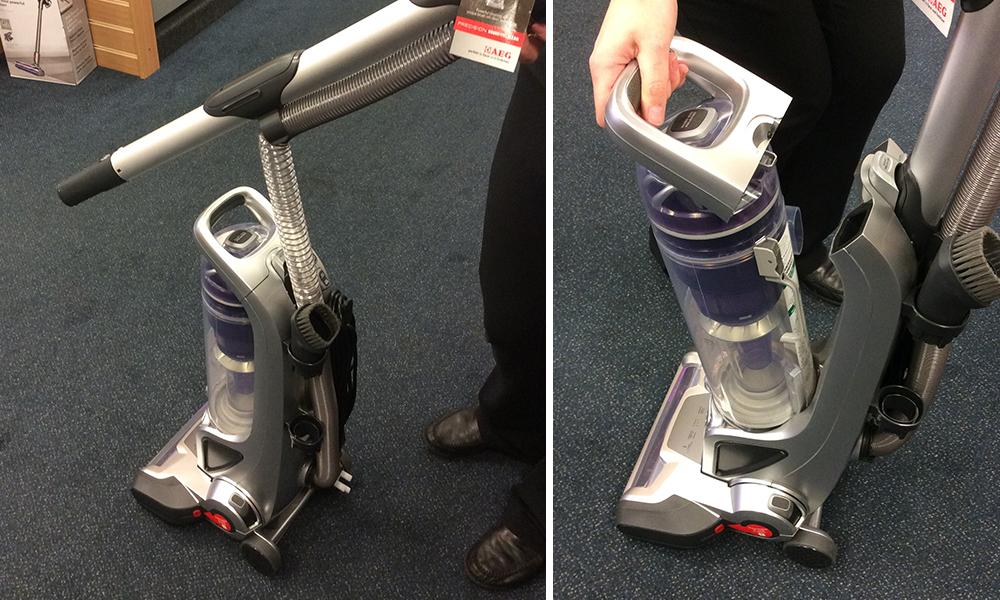 AEG A6100 Vacuum Cleaner modes