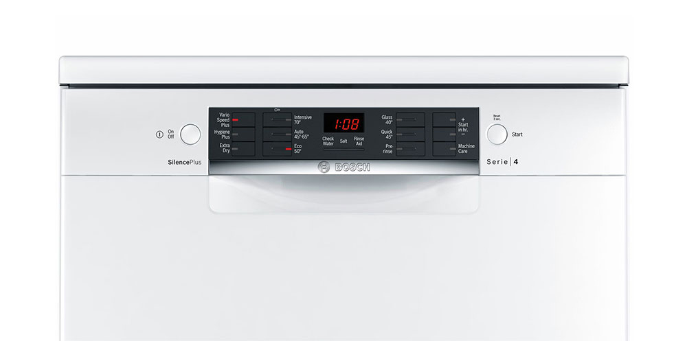 Bosch SMS46IW02G Facia