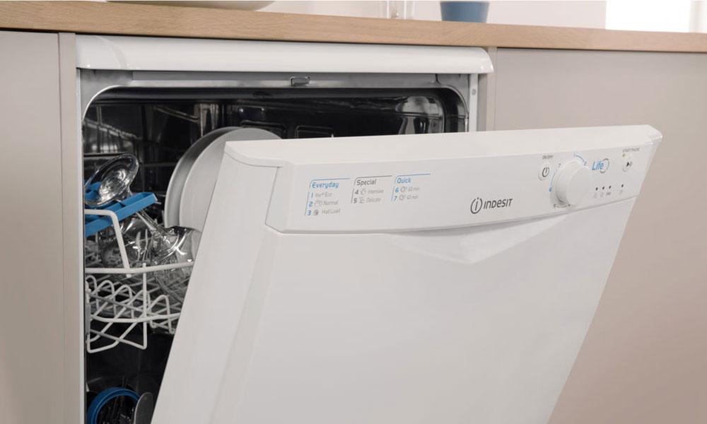 Indesit DFG15B1 Dishwasher view