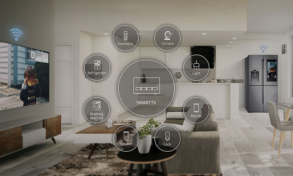 Samsung UE49NU8000 SmartThings