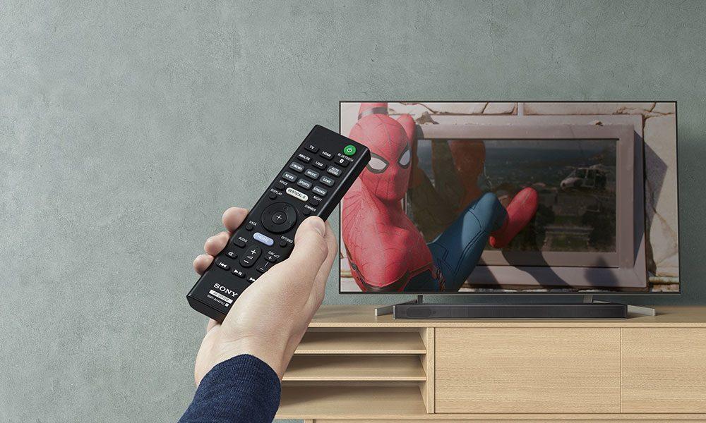 Sony-HT-XF9000 remote
