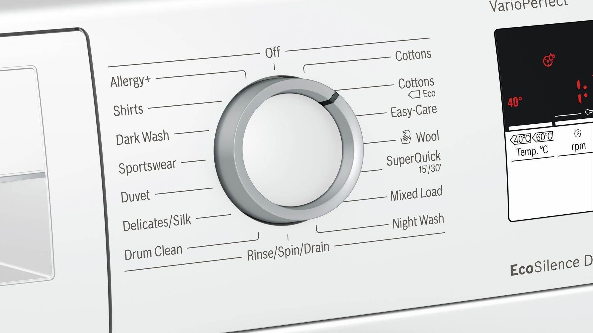 Review: Bosch WAN28108GB Freestanding Washing Machine 1